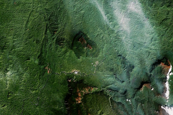 Terra Incognito? Venezuela's Amazon rainforest (a portion of which is viewed here by Google Earth) has been almost wholly ignored by researchers.